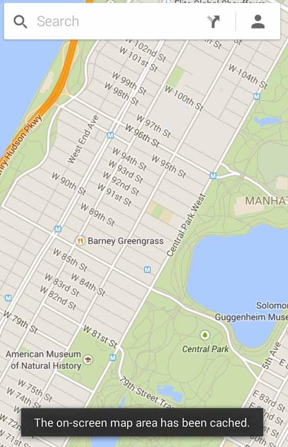 Reduzir o consumo de dados do Google Maps