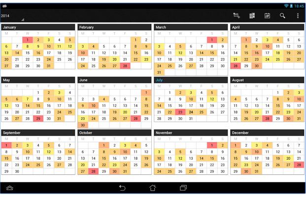 Ferramentas para organizar o seu dia (Business Calendar)