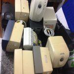 LIMPEZA em um dos nossos clientes, os estabilizadores foram removidos.